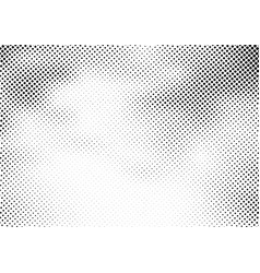 abstract halftone background and grunge texture vector image