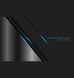 abstract silver dark grey metallic blue light line vector image
