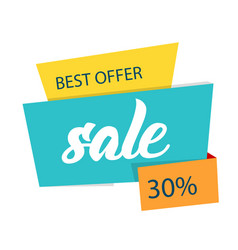 best offer sale 30 modern sale banner imag vector image