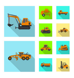 build and construction sign vector image