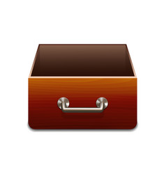 File Cabinet for Documents vector image