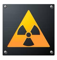 radioactive vector image vector image