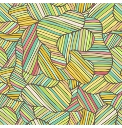 Seamless color hand-drawn pattern Abstract vector image