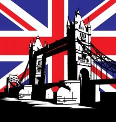 London bridge vector image vector image