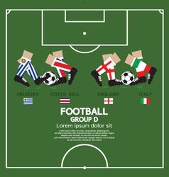 Group d 2014 football tournament vector
