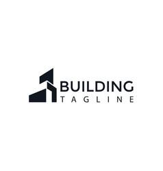 Building logo creative logo skyline logo vector