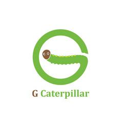 Caterpillar logo icon design vector