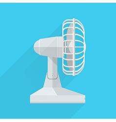 Flat icon for fan vector