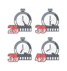 Four timers in set vector