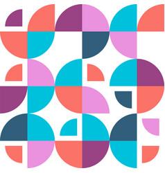 Geometric bauhaus patternbackground vector