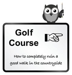 Golf Course vector