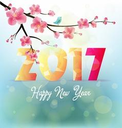 Happy new year 2017 vector
