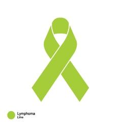 lymphoma ribbon vector image