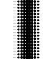pattern of halftone dots vector image