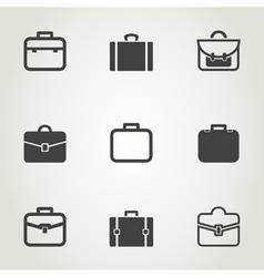 Portfolio an icon vector