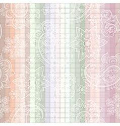 seamless paisley tile vector image