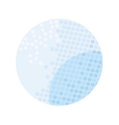 Sport ball golf flat style icon vector