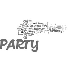 what party supplies do i need to make my party a vector image