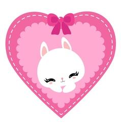 bunny 05 vector image vector image