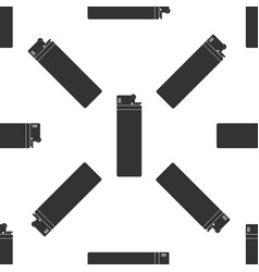 lighter icon seamless pattern on white background vector image
