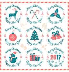 Christmas banners 2017 vector