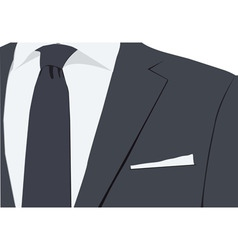 Suit design vector image vector image