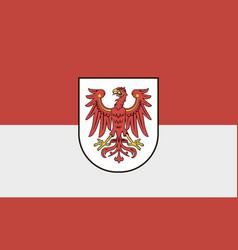 flag brandenburg vector image
