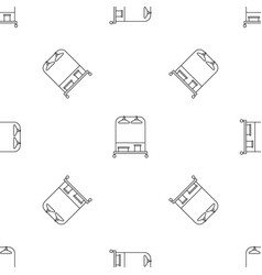 Hanger clothes pattern seamless vector