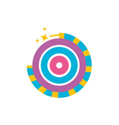Happy diwali celebration fireworks icons vector