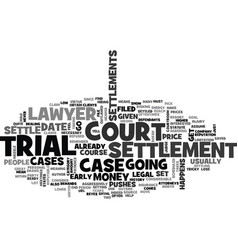 Is it necessary to go to court text background vector