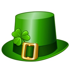 st patricks hat vector image