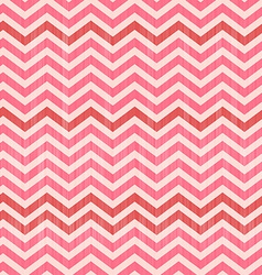 Seamless Abstract Toothed Pink Background vector image