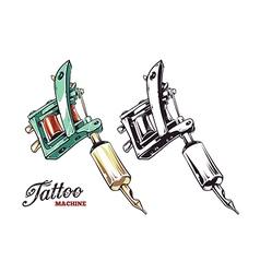 Tattoo machines 1 vector