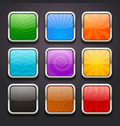 background for the app icons-part 3 vector image vector image