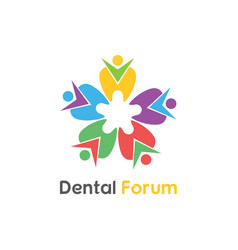 Dental forum vector