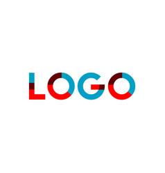 Logo template design vector