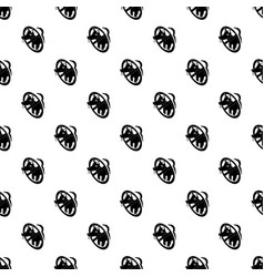 no dogs pattern seamless vector image