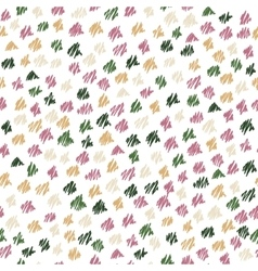 Abstract seamless hand-drawn scribbles pattern vector image