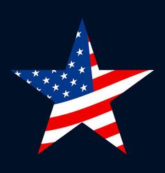 america star icon vector image