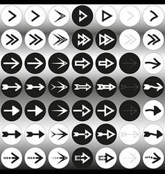 Arrow set 49 vector image