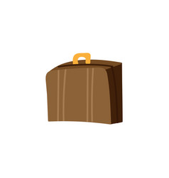 baggage flat color vector image