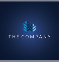 building logo ideas design vector image