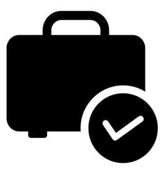 Checked baggage vector