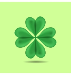 Four-Leaf Clover vector