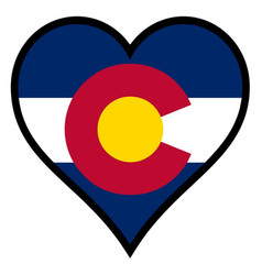 Love colorado vector