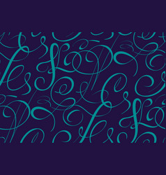Seamless pattern element with vector