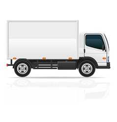 small truck 02 vector image