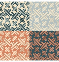 Seamless pattern with the image of surfboard vector