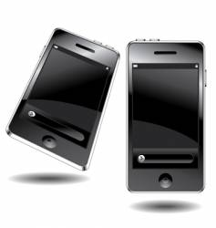 touch phone vector image