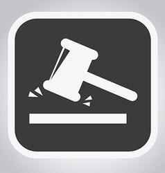 judge design vector image vector image
